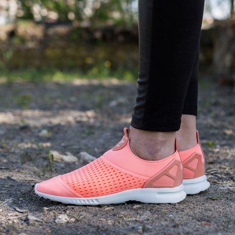 meet fe7c5 a9877 کفش تمرین زنانه آدیداس - Adidas ZX Flux Adv Smooth Slip-On Womens Training  Shoes
